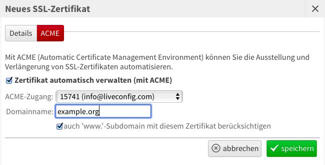 SSL Zertifikate - Febas
